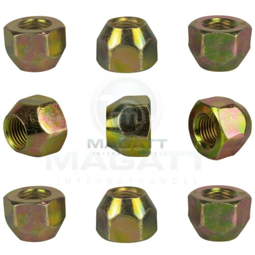 16 tuercas de rueda a llantas de aluminio /& llantas de acero para kia picanto río Sephia mentor Shuma