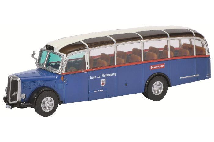 Saurer FBW Alpenwagen   Art no. 452615200, Schuco Car Model 1 87