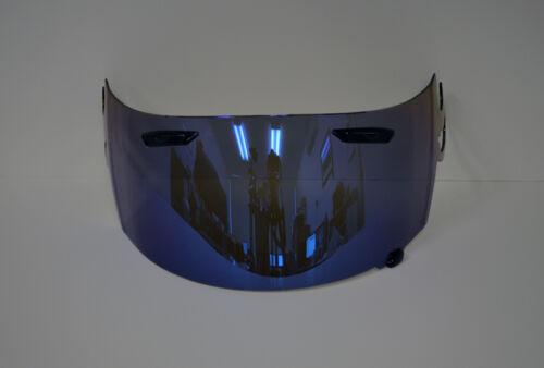 Blue Iridium Visor Shield for ARAI RR5 RX-7 GP Corsairv Aftermarket UK