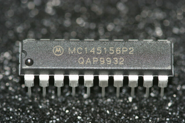 Motorola 3x MC145145P 4bit-Input PLL Frequency Synthesizer