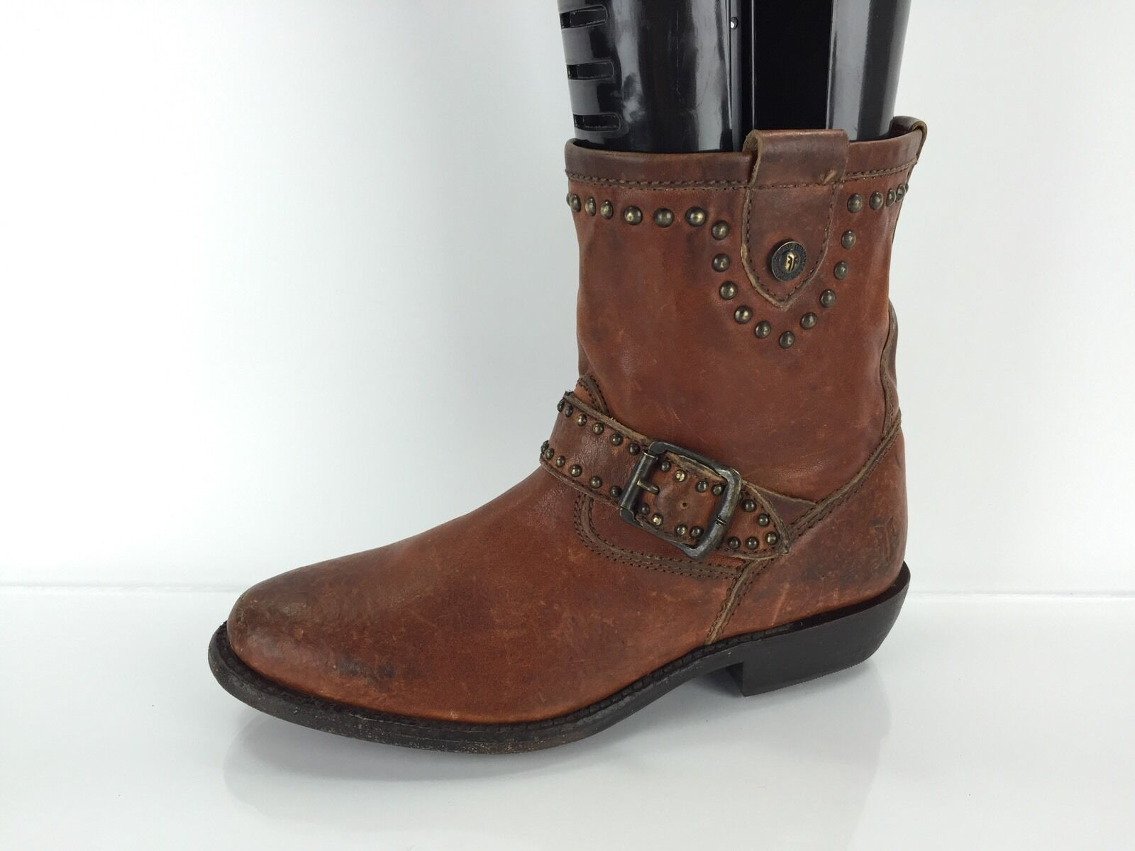 Frye Women's Brown Leather Boots 5.5 B