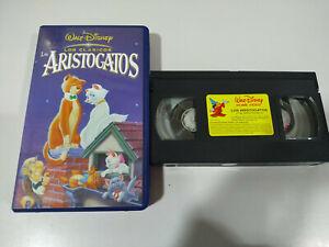Los-Aristogatos-Los-Clasicos-de-Walt-disney-VHS-Espanol