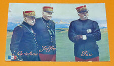CPA GUERRE 14-18 CARTE PETIT JOURNAL CASTELNAU JOFFRE PAU 1914
