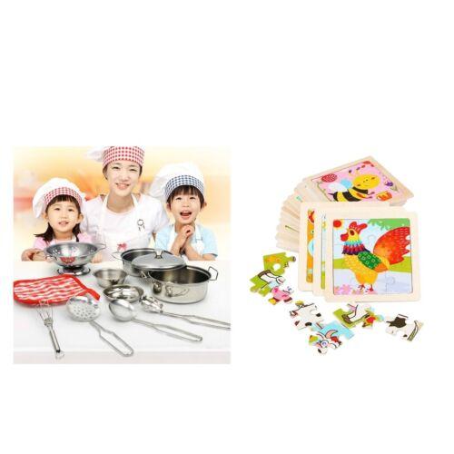 Pentole Da Cucina Giocattoli Per Bambini Finta Play Giochi Di Ruolo Accessori