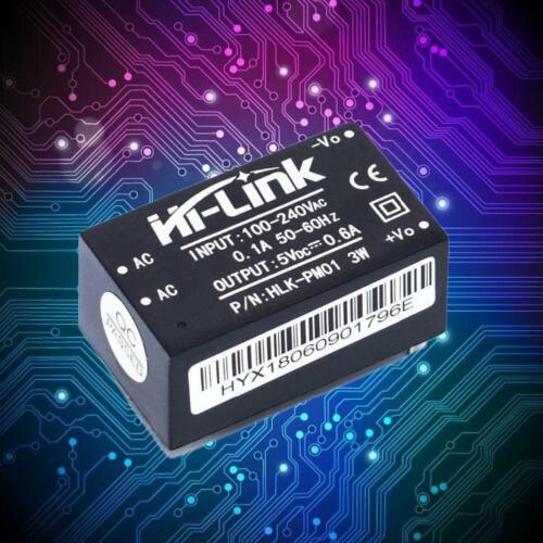 Gratis Verzending Hi-Link Nieuwe HLK-PM01 Ac Dc 220V Naar 5V 3W 600mA Step Down