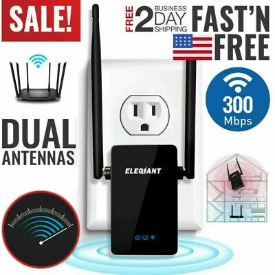 WiFi Range Extender Super Booster 300Mbps 2.4G Boost Speed Wireless Router Home