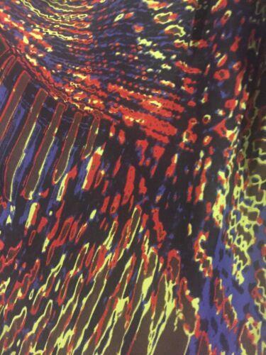 seta maniche 8 pura in a Uk 4 Heritage Vestito Halston lunghe Us 5CP6IwU