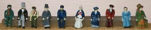 Victorian-Edwardian-F10p-PAINTED-OO-Scale-Langley-Models-People-Figures-1-76