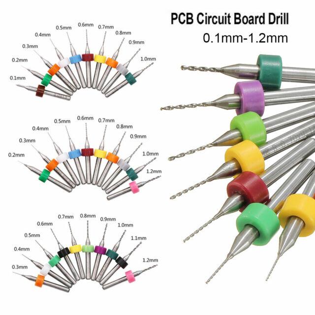 Cemented Carbide PCB Print Circuit Board 0.2mm Micro Drill Bits Carbide Drill Bits