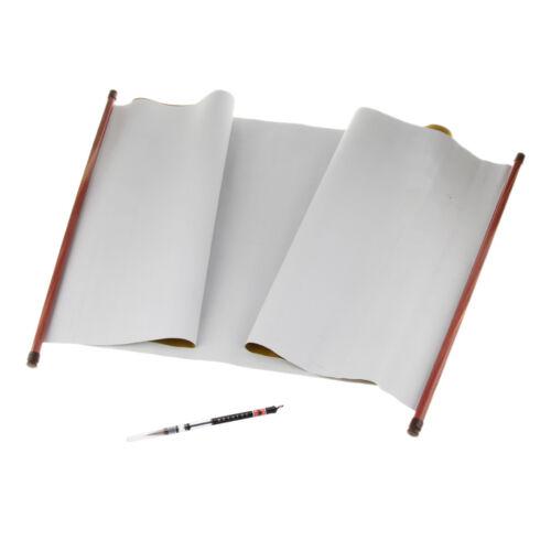 Chinese Calligraphy Magic Water Writing Cloth /& Calligraphy Brush Pen Set