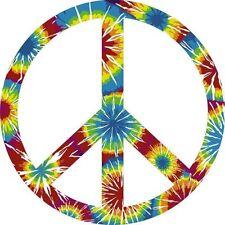 Peace Sign Tye Dye World Peace Sticker Decal Graphic Vinyl Label