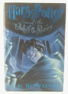 Harry-Potter-034-The-Order-Of-The-Phoenix-034-Hardcover-2003-J-K-Rowling