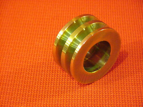 """Pulley 2.63/"""" // 66.7mm OD 0.67/"""" // 17mm ID Belt  2- V Grooves"""