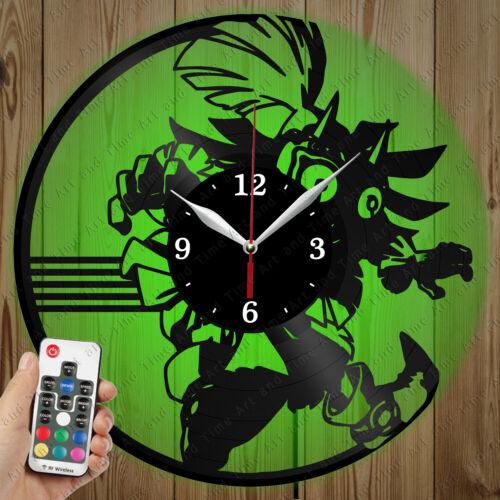 Details about  /LED Vinyl Clock Legend of Zelda LED Wall Art Decor Clock Original Gift 7135