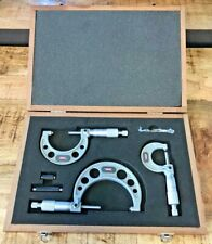 Spi Micrometer Set 0 3 17 634 7 Excellent Condition Fast Shipping