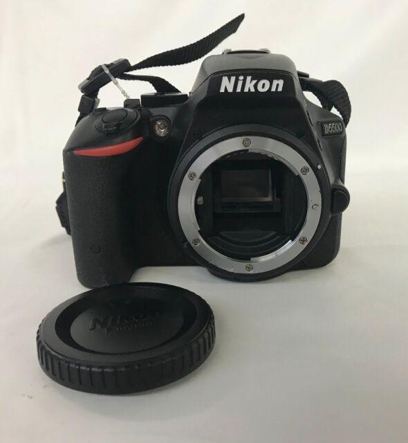Nikon D5500 24.2MP Digital SLR Camera (Body Only)  - Black   17-5A