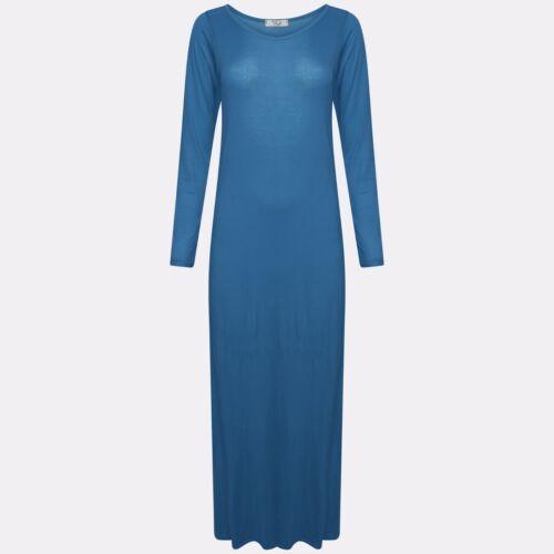 Women's Ladies Long Sleeve Maxi Dress