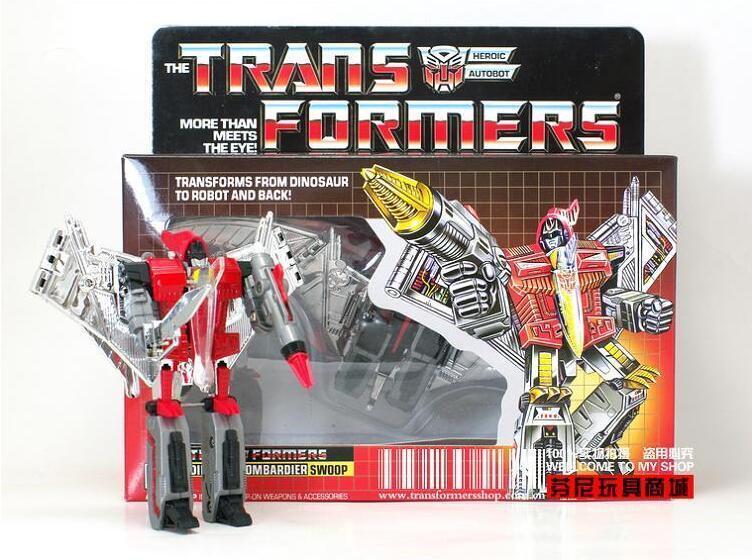 Transformers Reissue G1 Dinobot gold『SWOOP』MISB