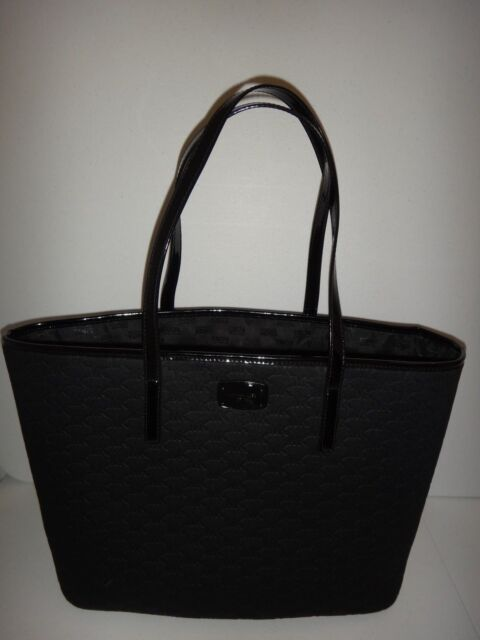 30a94f620cf2 Frequently bought together. MICHAEL KORS Women's EMRY MK Signature LG TZ  Tote Bag Black Neoprene 38S8CE4T3V