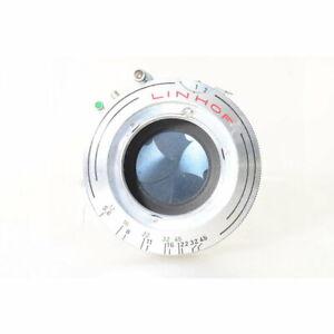 Linhof Compur Verschluß 1 in Silber / Mechanischer Verschluss mit Grösse 1
