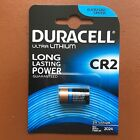 NEW Duracell CR2 3V Ultra Lithium Photo Camera Batteries DLCR2 / ELCR2