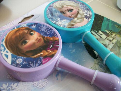 New Disney FROZEN Toy Musical MARACAS Elsa Anna Children Gift