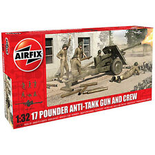 AIRFIX A06361 17 Pdr Anti-tank Gun 1:32 Military Model Kit