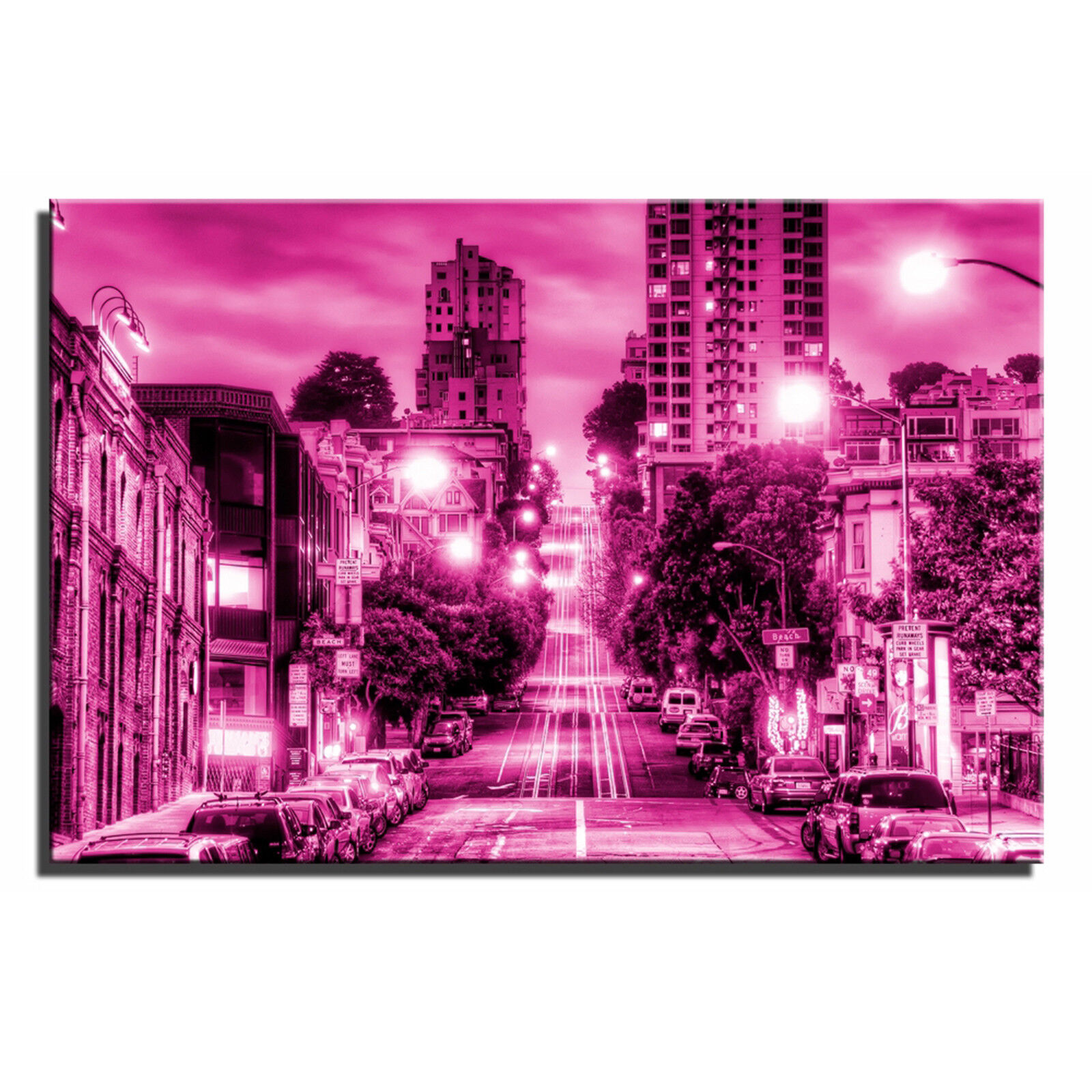 San Francisco paesaggio unico a muro muro muro arte foto stampa 1 dfde1f