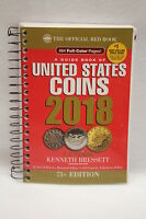 2018 Official Price Guide Red Book Of United States Coins - Free Usa Shipping