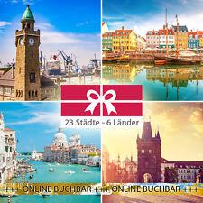 Kurzurlaub für 2 Personen 22 Städte - 34 Hotels inkl. Frühstück + Kinder Frei