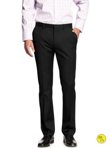 Banana Republic Men/'s Black Tailored Slim Fit Pants Size 35 X 34