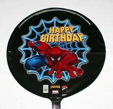 "SPIDERMAN Marvel Comics Superhero HAPPY BIRTHDAY 18"" Dia FOIL BALLOON SET 5 Pcs"