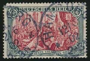 D-Reich-Nr-81-Z-gestempelt-ZWISCHENTYPE-in-2-Wahl-Mi-6-000-Euro-48398
