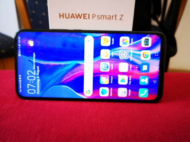 Huawei P Smart Z. STK-LX1 - 64GB -  Black (Ohne Simlock) Gute Zustand (Dual-SIM)