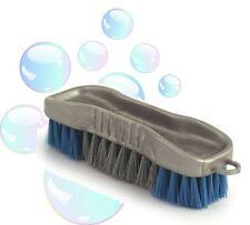 Piccola a mano spazzola di sfregatura rigida Deck Scrub spazzola lavaggio facile Presa Floor Scrubber