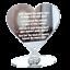 In-Loving-Memory-Mum-Sign-Wedding-Memorial-Personalised-Plaque-Table-Poem-Heart miniatura 21