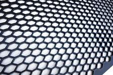 Universal Black ABS Plastic Racing Honeycomb Hex Mesh Grill Spoiler Bumper Vent-