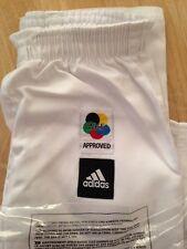 Adidas Kids Karate Uniform 150cm Gi New White Suit Martial Arts Kimono ClubK220c