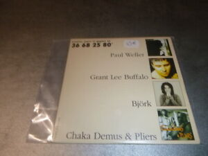 RARE-CD-Promo-French-Market-Bjork-Chaka-Demus-Weller-buffalo-Bjork