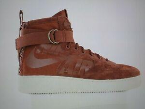 Shop Nike SF Air Force 1 MID (Pueblo Brown) 917753 202