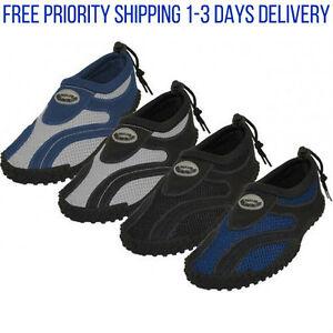 Mens Water Shoes Aqua Socks Yoga Exercise Pool Beach Dance Swim ...