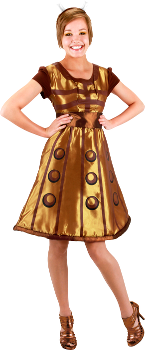 Doctor Who - Dalek Costume Dress S/M-ELO404830