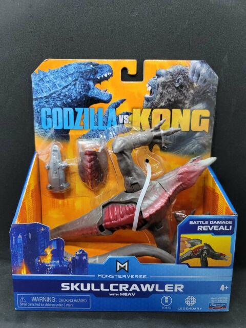 Godzilla Vs Kong SkullCrawler Playmates Walmart Exclusive RARE