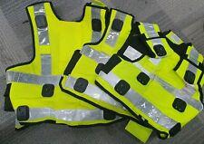 Security Job Lot Ex Police Hi Vis Epaulettes Uniform // Threatre Film A1073