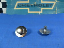 NOS 1965 66 67 Chevy Camaro Buick  Pontiac Oldsmobile GM  GLASS Channel BOLTS