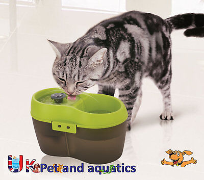 Cat Supplies Cat Drinking Fountain Fresh Water Drinking Fountain With Dental Care 2l We Have Won Praise From Customers Dishes, Feeders & Fountains