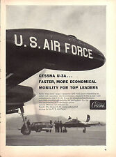 1959 Cessna U-3A U.S. Air Force Economical Transport Mobility for Leaders Ad
