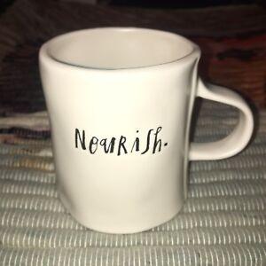 Rae Dunn By Magenta NOURISH Coffee Tea Mug Cup