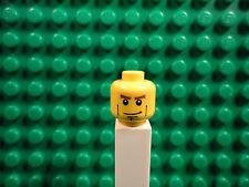 Lego mini figure 1 Yellow head with a face #53