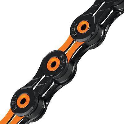 Bicicleta Cadena 116 enlaces Kmc X10SL Negro Naranja Negro Naranja